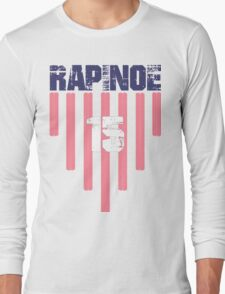 Megan Rapinoe #15 | USWNT Olympic Roster Long Sleeve T-Shirt