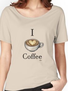 I <3 Coffee Women's Relaxed Fit T-Shirt