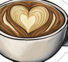 I <3 Coffee Sticker