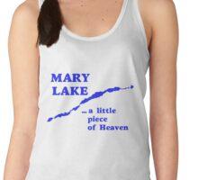 Mary Lake a little piece of heaven Women's Tank Top