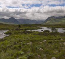 Rannoch Moor Glencoe Scotland Sticker