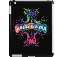 BONG WATER - black background iPad Case/Skin