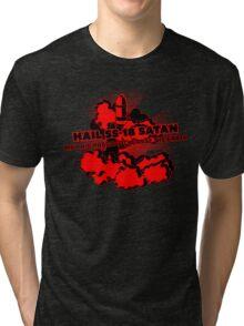 Oh no, John Ringo / Hail SS-18 Satan Tri-blend T-Shirt