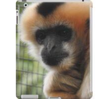 White-cheeked gibbon iPad Case/Skin