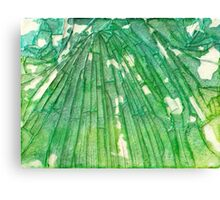 Broken Glass Watercolor Venus Mosaic Canvas Print