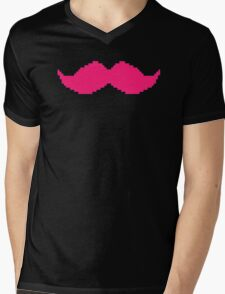 Markiplier - Have Your Own 8-Bit Warfstache (Good Mug) Mens V-Neck T-Shirt
