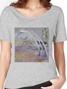 Arch and Impression of a Landscape  Women's Relaxed Fit T-Shirt