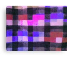 Purple Patches Canvas Print