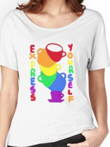 Express Your Rainbow Self Women's Relaxed Fit T-Shirt