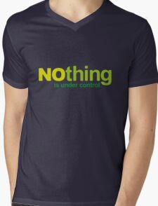 NOthing Mens V-Neck T-Shirt