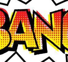 BANG! Comic Onomatopoeia  Sticker