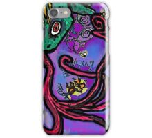 Frustrated Frog iPhone Case/Skin