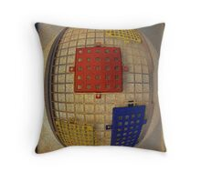 Egg Container Throw Pillow