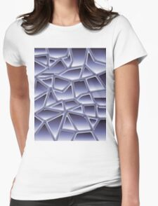 Gradient two Womens Fitted T-Shirt