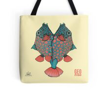 GeoFish Heart Tote Bag
