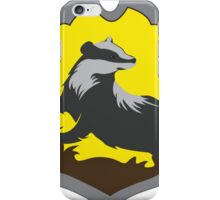 Hufflepuff House Crest iPhone Case/Skin