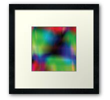 vibrant abstract background Framed Print