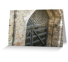 Traitor's Gate Greeting Card