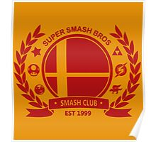 Smash Club -(Red) Poster