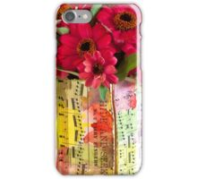 Hide And Seek - Zinnias iPhone Case/Skin