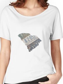 Vintage South Carolina License Plates Women's Relaxed Fit T-Shirt