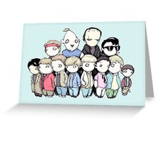 Goonies Vs Monster Squad Greeting Card