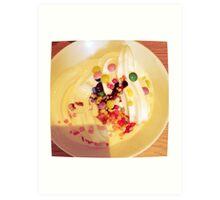 Icecream & Sprinkles Art Print