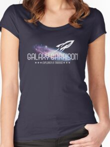Galaxy Garrison Women's Fitted Scoop T-Shirt
