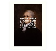 What'll you fall for? Art Print