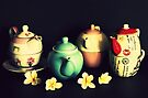Teapots and Frangipanis by Evita
