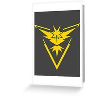 Retro Team Instinct Greeting Card