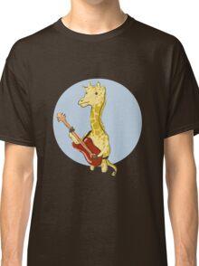 Giraffes Love Music Classic T-Shirt