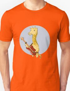 Giraffes Love Music Unisex T-Shirt