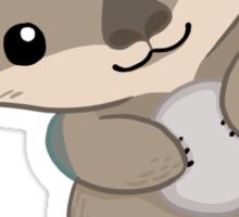Cute Otter Pup Sticker