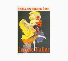 Vintage Jules Cheret 1896 La Loie Fuller Unisex T-Shirt