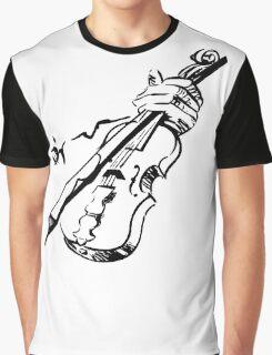 Violin Graphic T-Shirt