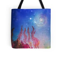 Evening Flowers Tote Bag