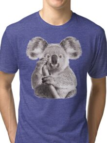 SAVE THE KOALA Tri-blend T-Shirt