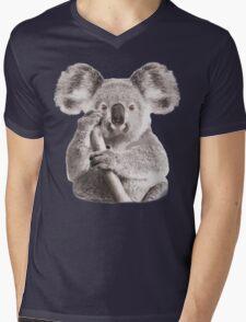 SAVE THE KOALA Mens V-Neck T-Shirt