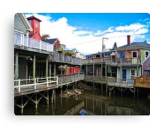 Kennebunk River Kennebunkport Maine  Canvas Print