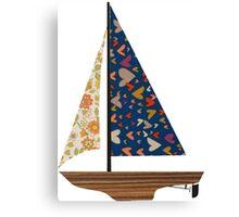 sail boat 2 Canvas Print