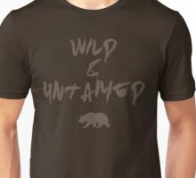 Wild & Untamed - Bear Spirit Animal   Unisex T-Shirt