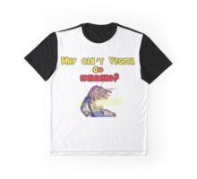 Why can't Vegeta go swimming? T-shirt and other products Graphic T-Shirt