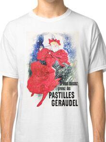 Vintage Jules Cheret 1895 Pastilles Geraudel Classic T-Shirt