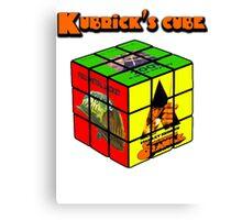 Kubrick 's Cube Canvas Print