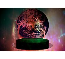 Earth on a pedestal Photographic Print