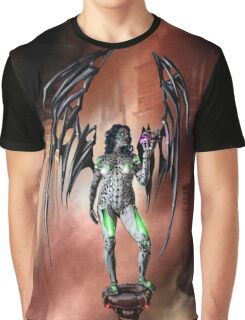 Robot Angel Painting 022 Graphic T-Shirt