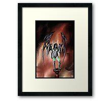 Robot Angel Painting 022 Framed Print