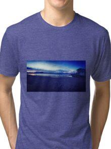 Blue Tahoe  Tri-blend T-Shirt