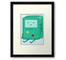 a computing companion Framed Print
